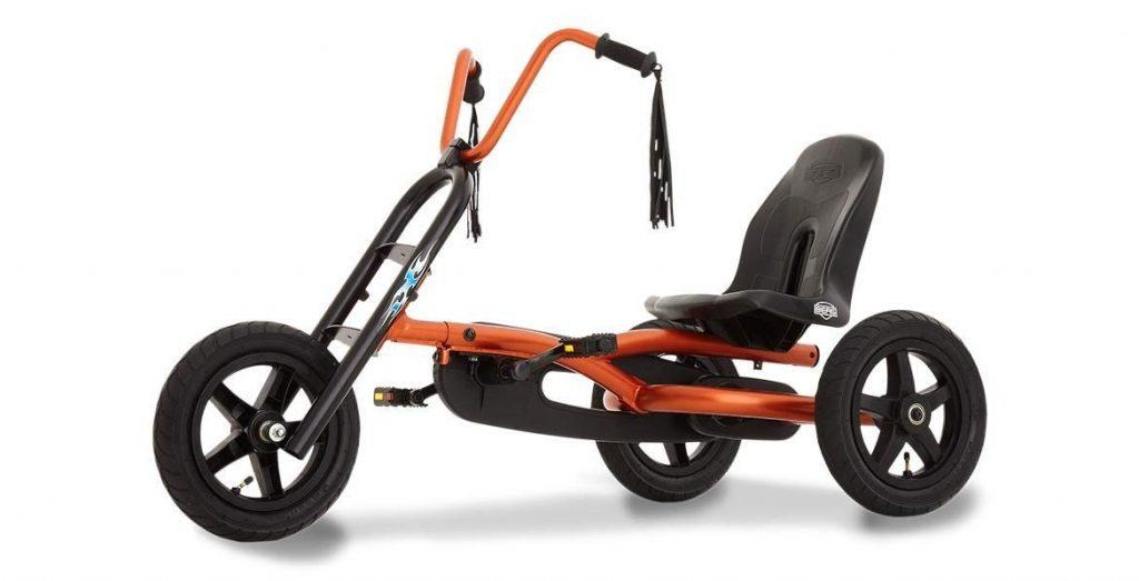 Kart a pedale berg